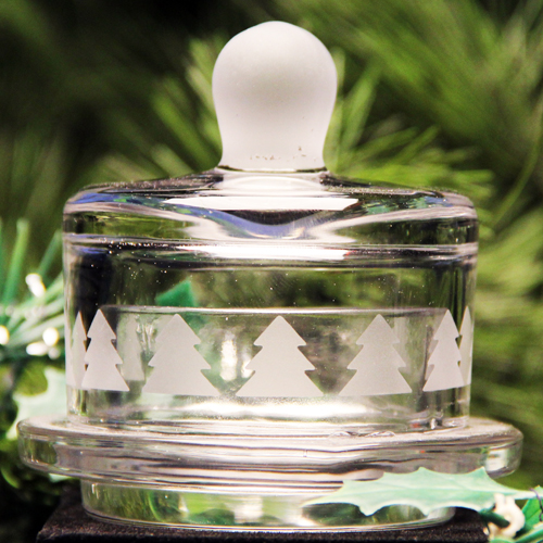 Christmas Tree Butter Dish