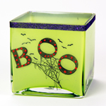 BOO! Glow  In The Dark  Vase