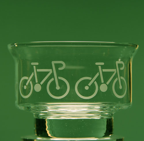 Bicycle Dessert Dish