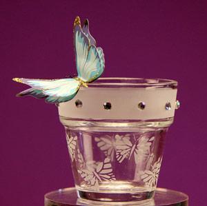 Butterfly Mini Flower Pot