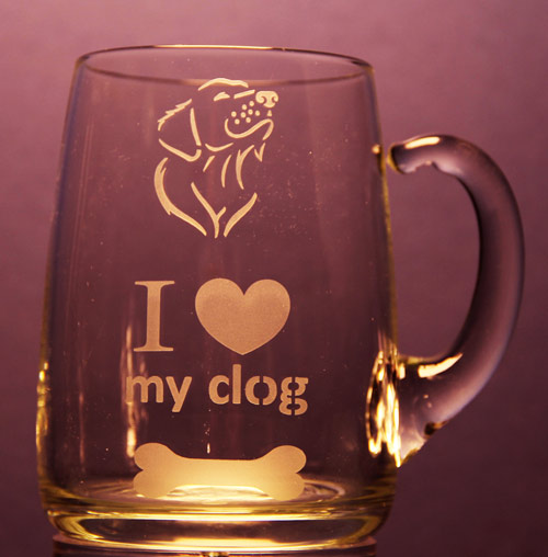 I Love My Dog Mug
