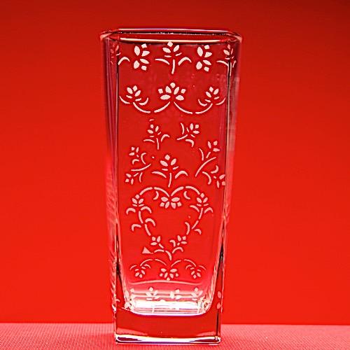 Floral Draped Vase