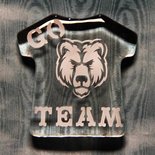 Go Team Paperweight