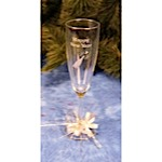 Happy New Year Champagne Toast Flutes