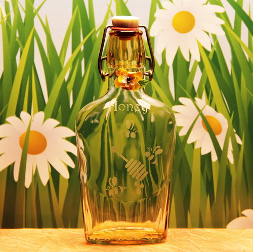 Honey Bee Flask