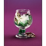 St Pat's Brandy Glass Favor