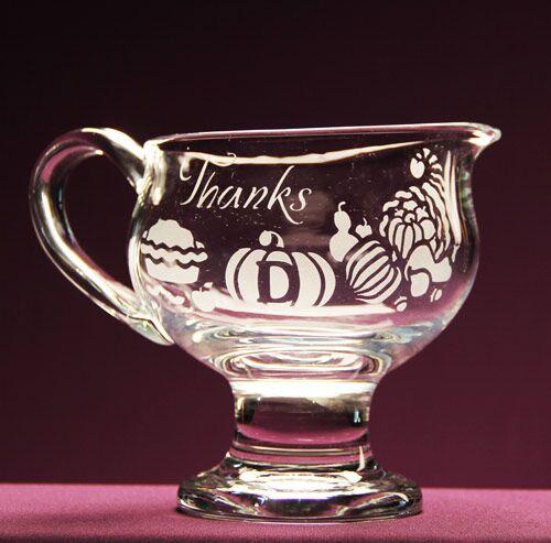 Thanksgiving Monogram Gravy