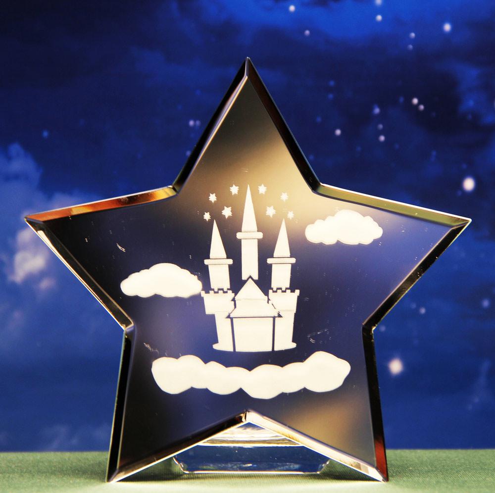 Fairytale Castle Star Mirror