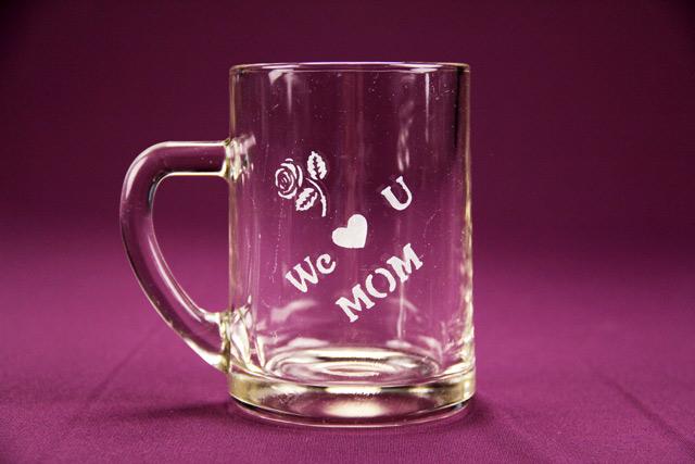 We Love U Mom Mug