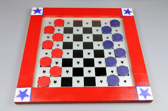 Patriotic Checkerboard Set