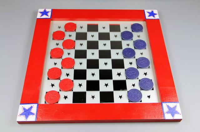 Patriotic Checkerboard Set