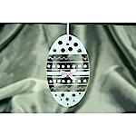 Zig Zag Easter Egg Ornament
