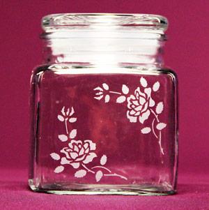 Corner Rose Jar