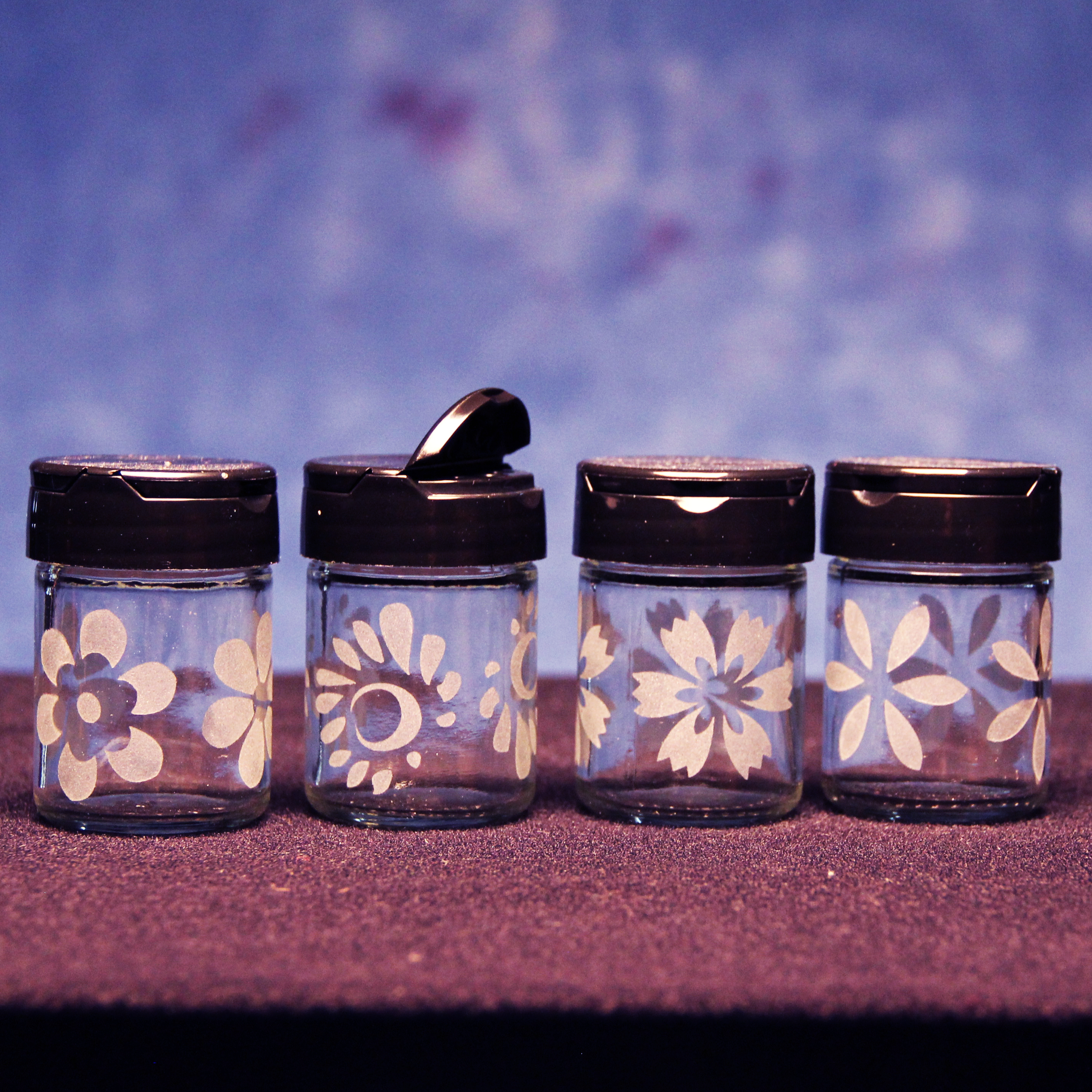 Floral Spice Shakers