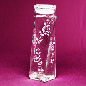 Twisted Roses Canister