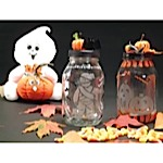 Etched Halloween Candy Jar