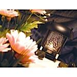 Etched Oriental Tea Light
