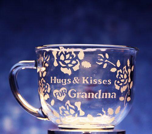 Hugs and Kisses for Grandma