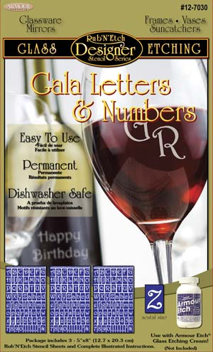 Gala letters & Numbers