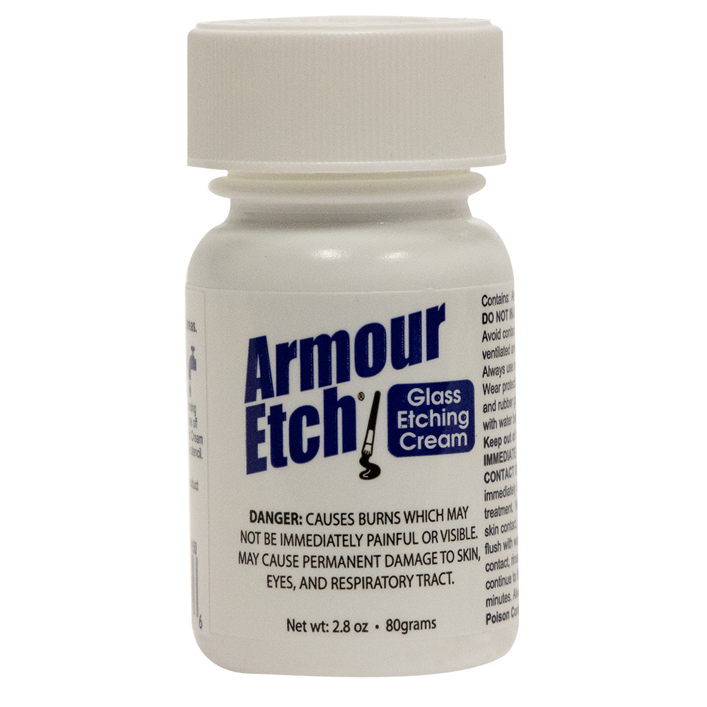 3oz. Armour Etch Glass Etching Cream