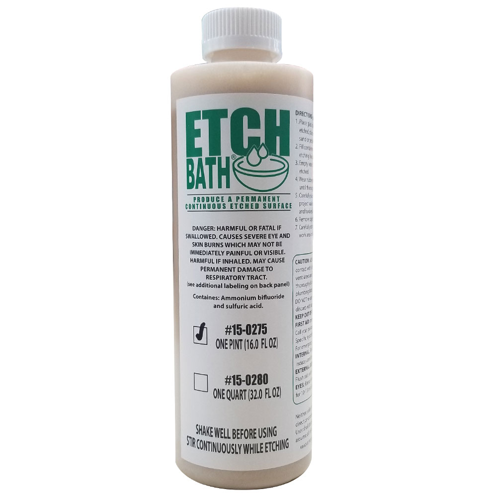 16 oz Etch Bath Dipping Solution