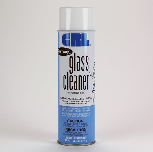 Commercial Quality Glass Cleaner 19oz.