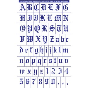 20 0491 old english full alphabet with numbers altavistaventures