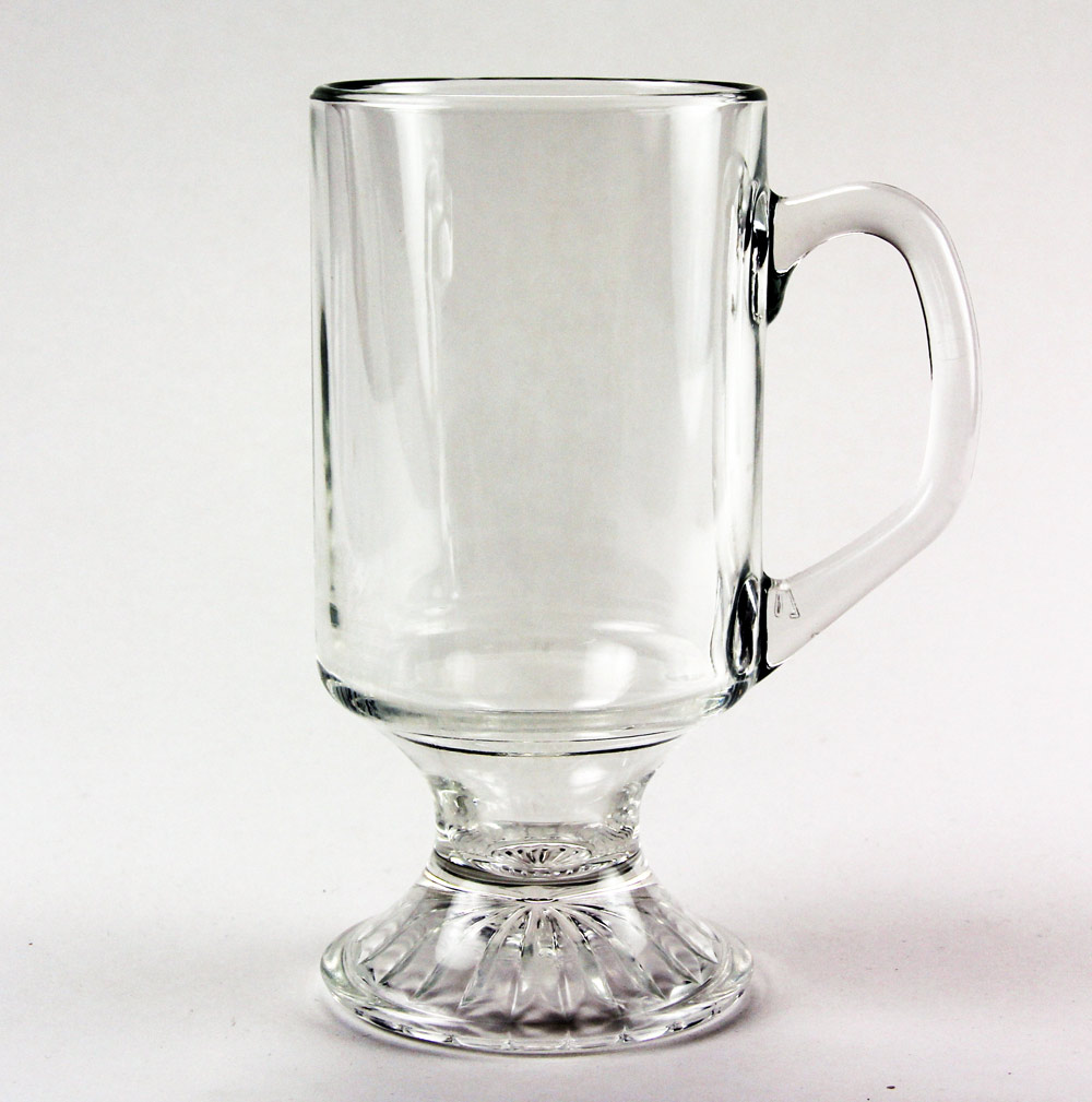 Clear Coffee Mug 9.75 oz