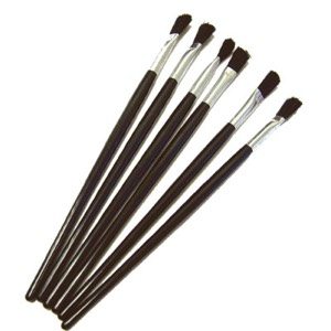 "08-9606 - 6 Pack 1/4"" Brushes"