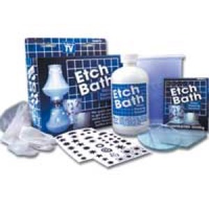 10-0270 - Etch Bath Glass Etching Kit