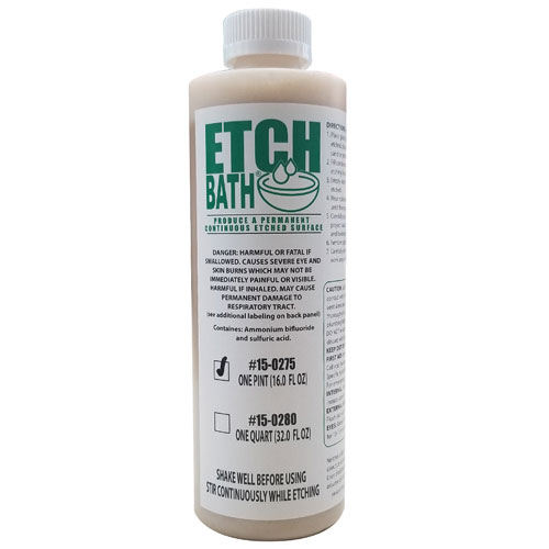 15-0275 - 16 oz Etch Bath Dipping Solution