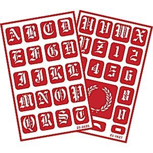 ONO Old English Alphabet 2 pak