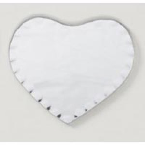 Scalloped 6 in. Heart