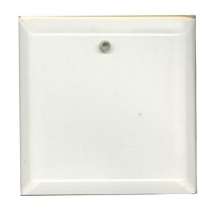 "Clear-4"" Square Thick Bevel"