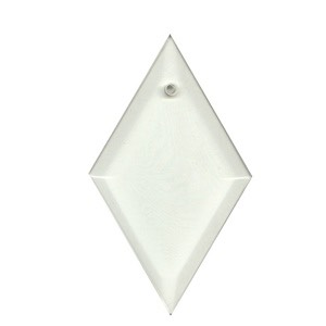 "Clear-3""x5"" Diamond Thick Bevel"