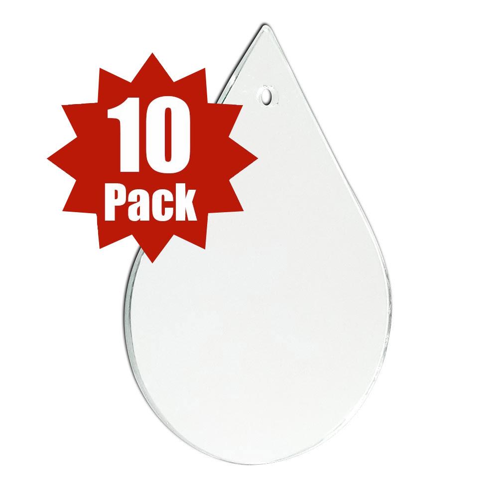 Teardrop Shape - (10 Pack)