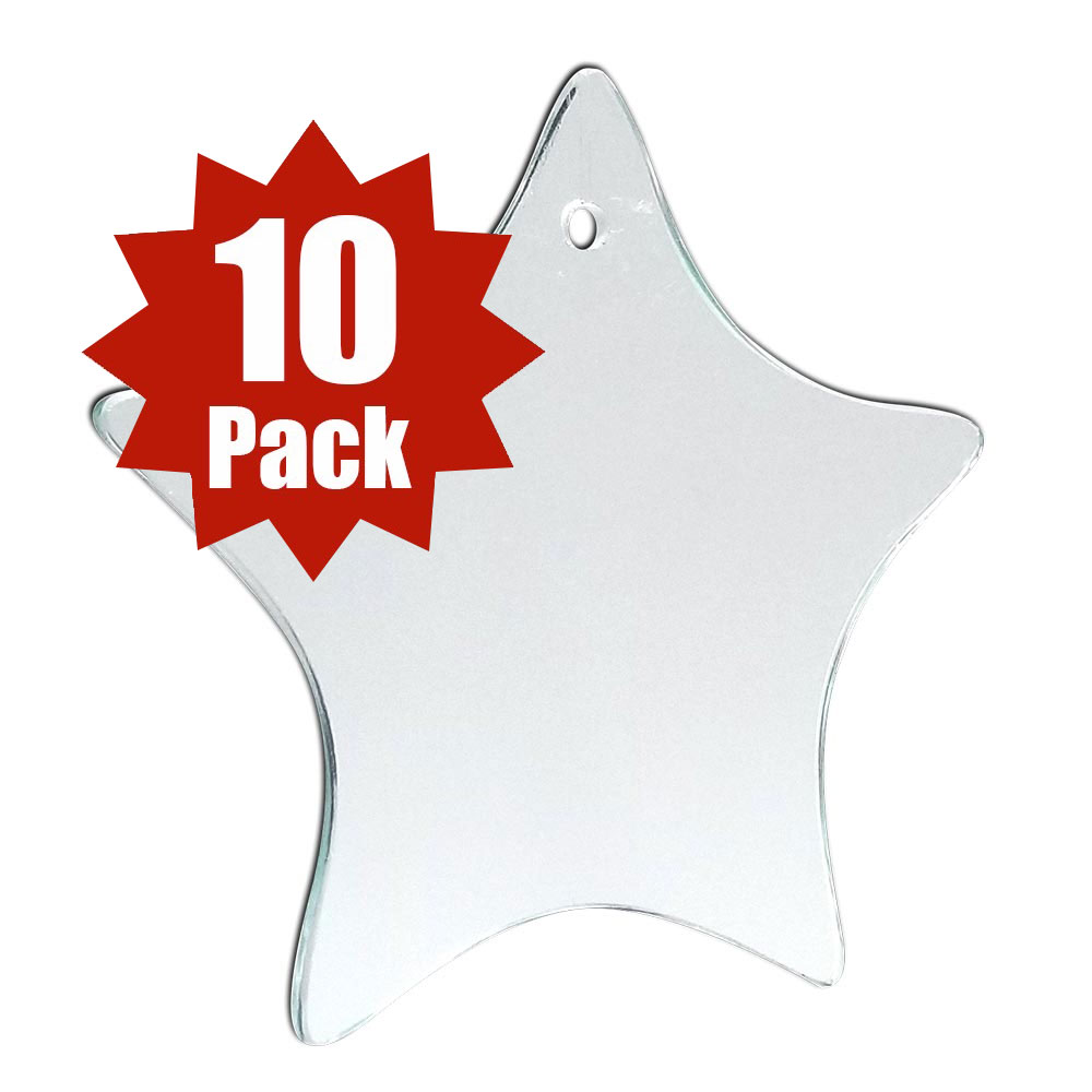 Star Glass Shape (10 Pack)