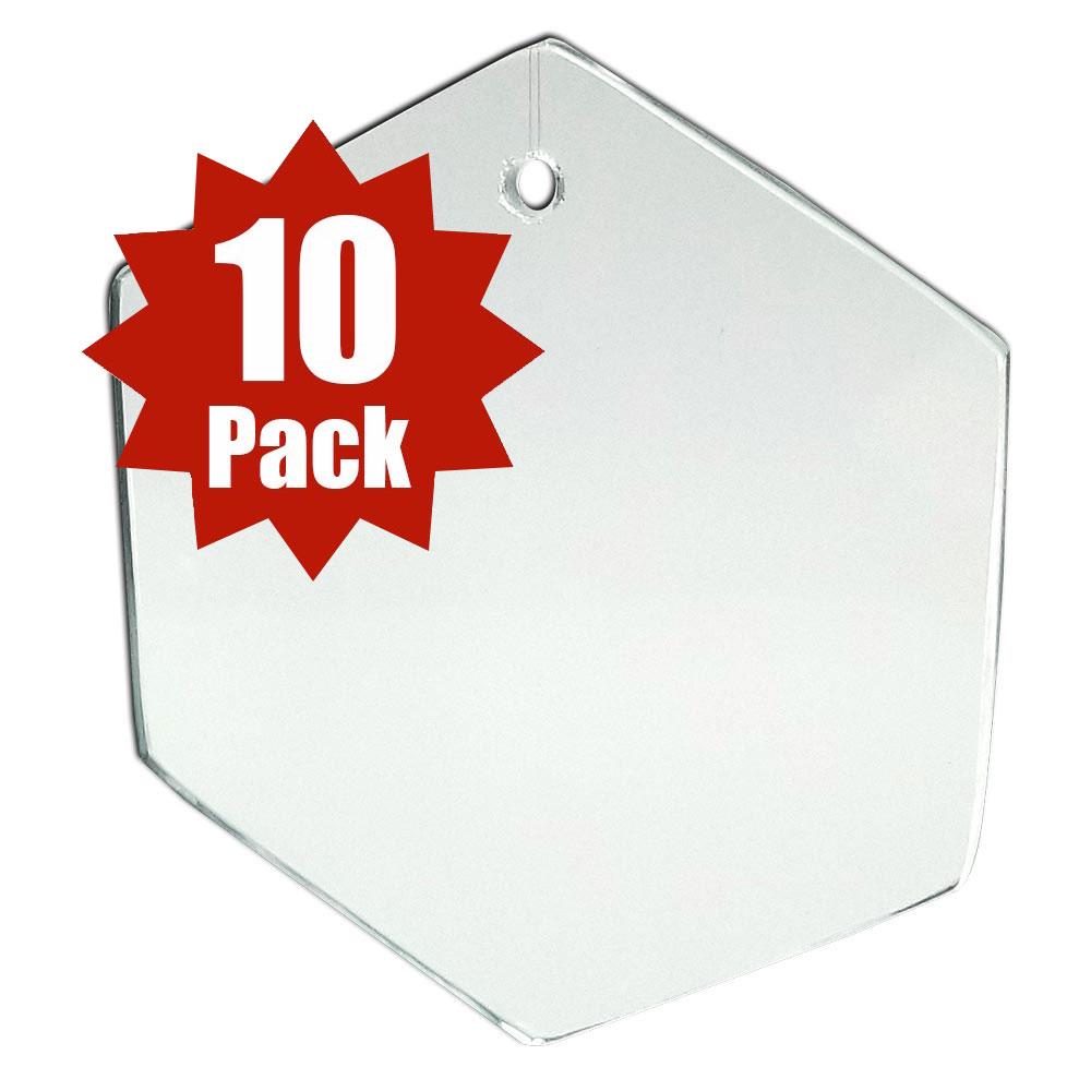 Hexagon Shape (10 Pack)