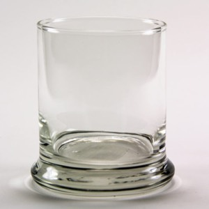 Clear Rock Glass 4""