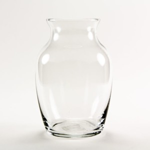 30-2372 - Clear Jardin Glass Vase 7""