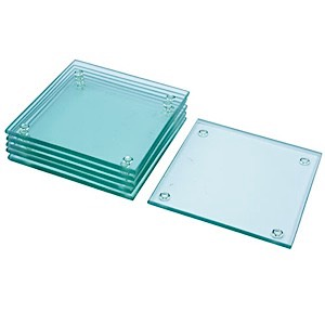 60-3909 - Etchable Square Coaster (6pc)