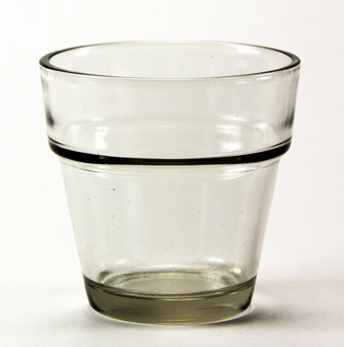 Mini Glass Flower Pot