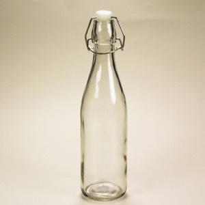 Glass Bottle w cap
