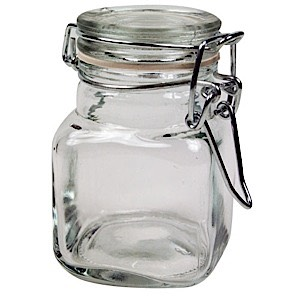 60-7033 - Glass Jar with Lid