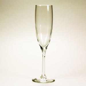 60-7035 - Clear Champagne Flutes  set of 2