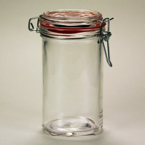 60-7036 - Glass Jar with locking lid