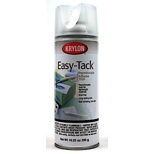 Easy-Tack Repositional Spray Adhesive-10.25 oz