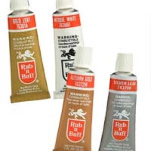 Rub N Buff Metallic Wax, 4 pak
