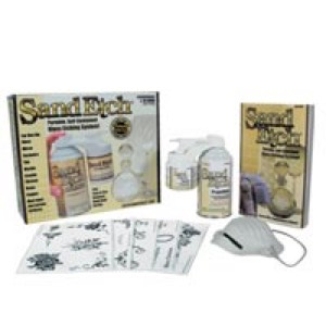 Deluxe Sand Etch Kit