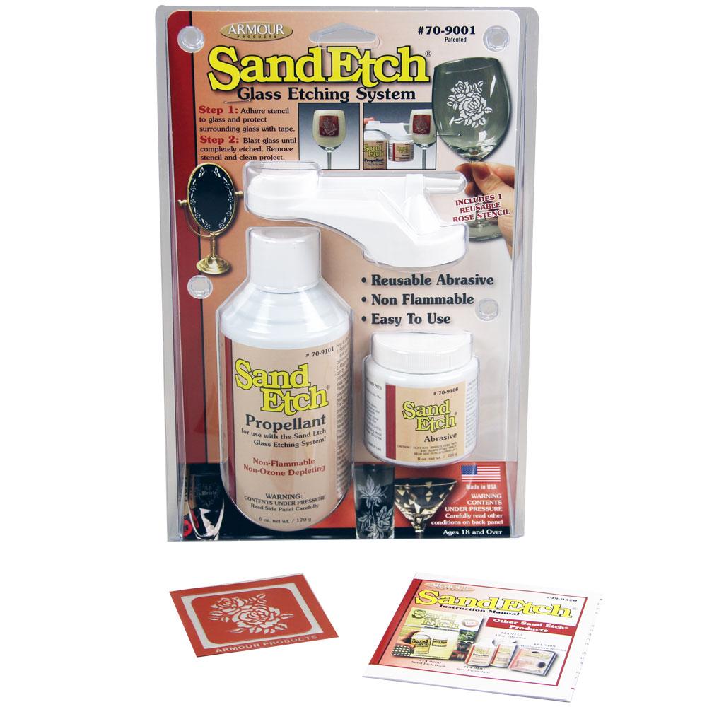 Starter Sand Etch Kit